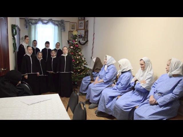 Рождественское выступление в Доме милосердия