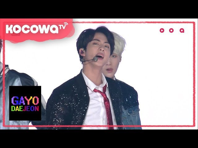 [2017 SBS GayoDaejeon] DNA and Not Today by BTS