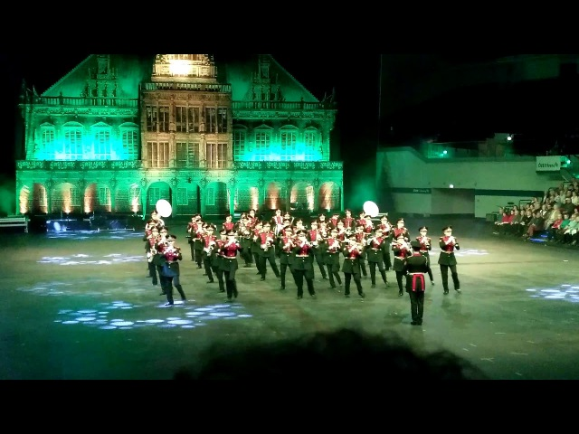 Bremen Tattoo 2018: Moscow Cadet Music Corps (21.01.2018)