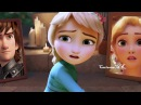 Anna|Rapunzel|Elsa|Hiccup||Silent Strom...