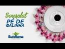 Crochetando com EuroRoma e Sandra Brum - Sousplat Pé de Galinha