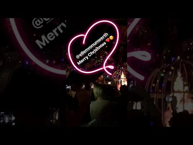 Bill Kaulitz Instagram Story iii [11.12.2017] - Merry Christmas ❤️😘