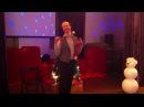 Поэт Жорж Сергеев на новогодней вечеринке у Ляли Бежецкой и Александры Жаркой п