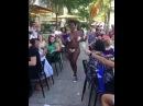 Голая негритянка танцует за деньги