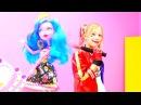 Kostüm partisi - Harley Quinn 🎭! MonsterHigh Gooliope Jellington ile kızoyunları! Süslenme oyunu