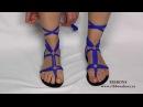 Sandalias multiformas de mujer Ribbon shoes