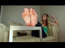 Lexi Measures Her Large Soles