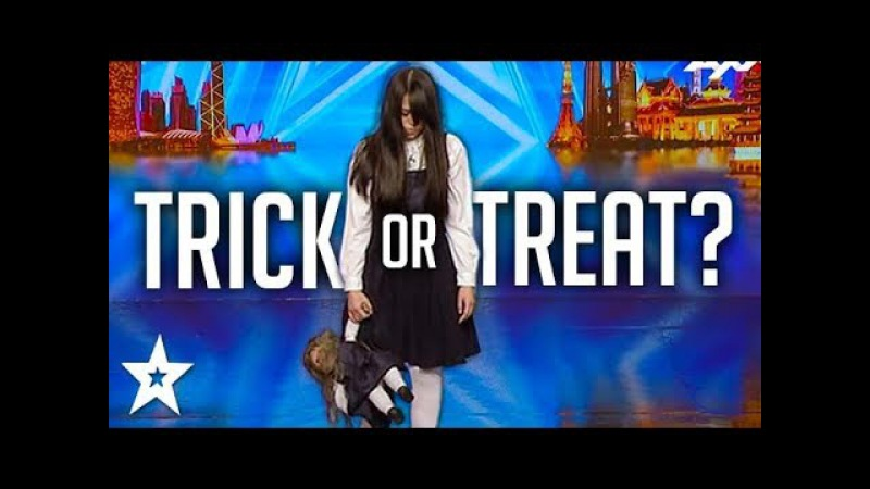 SCARIEST MAGIC TRICK Creepy Girl Freaks Out Asia's Got Talent Judges