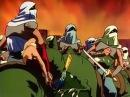 Гопники и великий Ранс разрушитель Момент из аниме Ранс страж пустыни Rance Sabaku