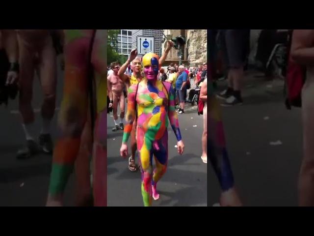 Гибель Европы Очередной гей парад в Берлине глазами очевидцев