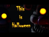 FNAF SFM This is Halloween (Metal Cover) Halloween Special