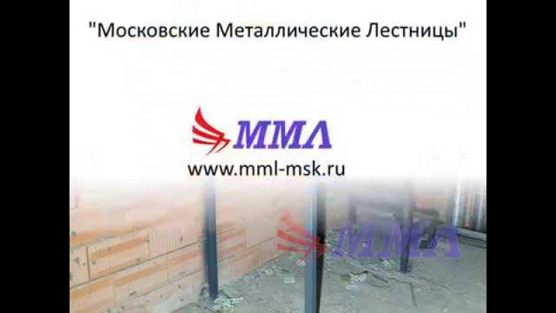 Антресольный этаж в КП Вяземское и два П образных металлокаркаса
