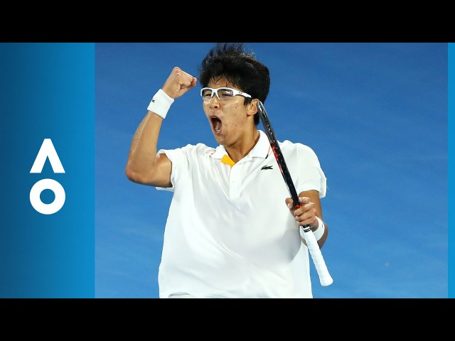 Novak Djokovic v Hyeon Chung match highlights (4R) | Australian Open 2018