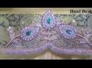 Lakshmi Maggam Work || Zari and Stone Work
