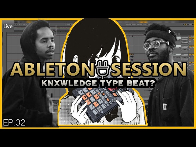 Ableton Production Session - Lo Fi Hip Hop Beat Tutorial Chopping Samples (Stock Plugins Only!)