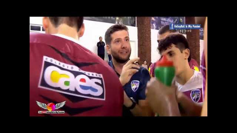 [HD] JF Volei vs Corinthians |15-12-2017 | Brazil SuperLiga Men 2017/2018