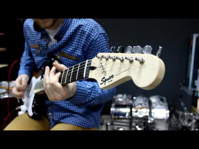 Squier Bullet Strat HSS Fender Line 6 Spider IV 15