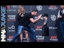 Michael Bisping's heartfelt exchange with amputee boy during UFC-London Q A