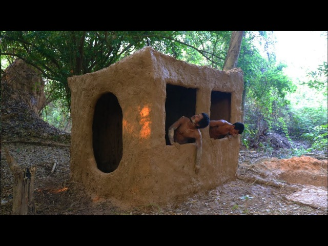 Primitive Tool Build primitive mud house