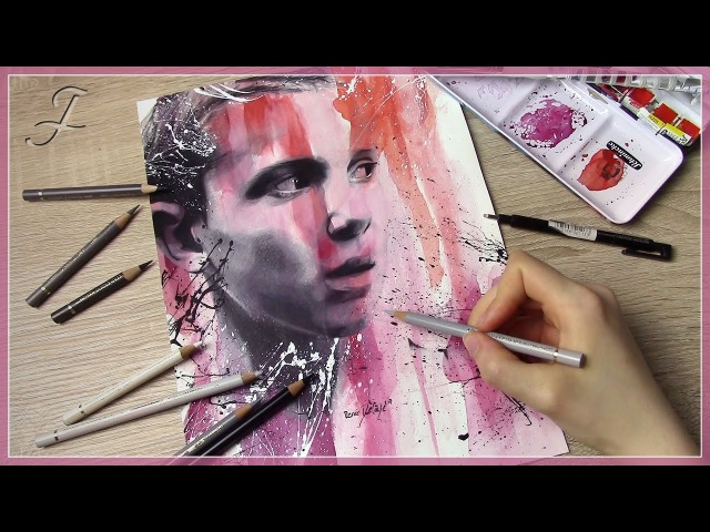 Eleven (Millie Bobby Brown) - Stranger Things | Speed Art Painting Drawing