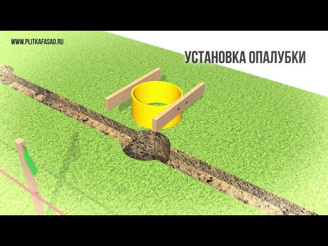 Инструкция по строительству заборов из бетонных блоков Часть 1 » Freewka.com - Смотреть онлайн в хорощем качестве