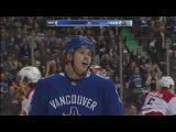 Первый гол Николая Голдобина в НХЛ в игре с «Каролиной»