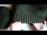 Узор (пуловер Хаки) ложный патентный