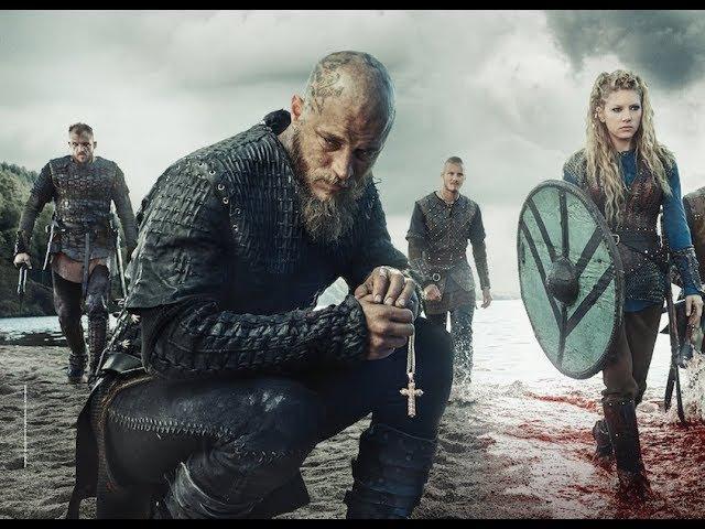 Лучшие сериалы, Vikings, Викинги 1 сезон 1 серия расширенная версия, Исторический.