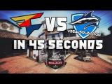 In 45 seconds - Vega Squadron vs Faze [ELEAGUE MAJOR BOSTON 2018]