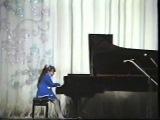 Dinara Klinton, 8 y.o. - Chopin Etude op. 25 No. 2 Debussy - Cake Walk from the Children's Corner