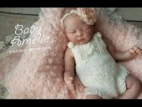 Baby Amelie Full Body Silicone Baby Limited Edition baby Sculpted by Jennie Lee Weebabies Nursery