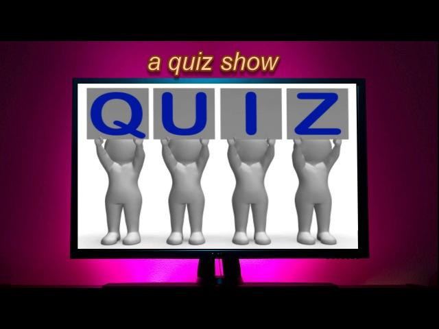 TV programmes vocabulary learn vocabulary