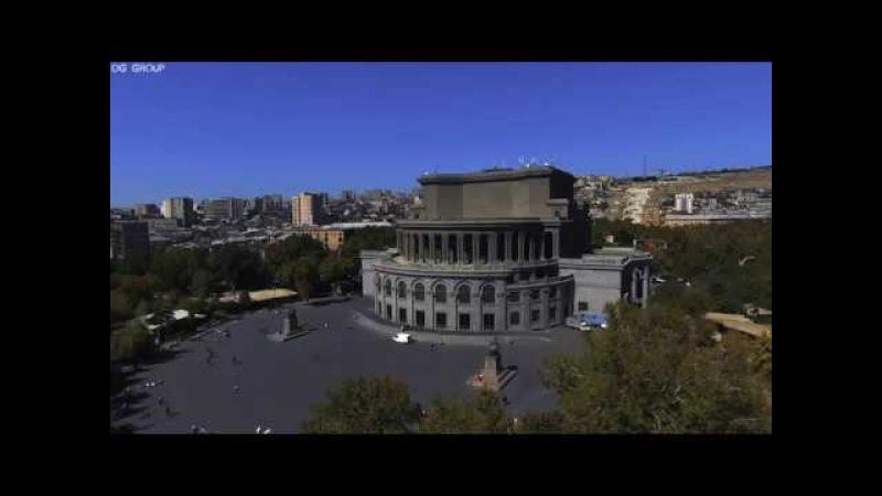Ереван с высоты птичьего полёта / Yerevan (Ultra HD 4320p 8k) Երևան
