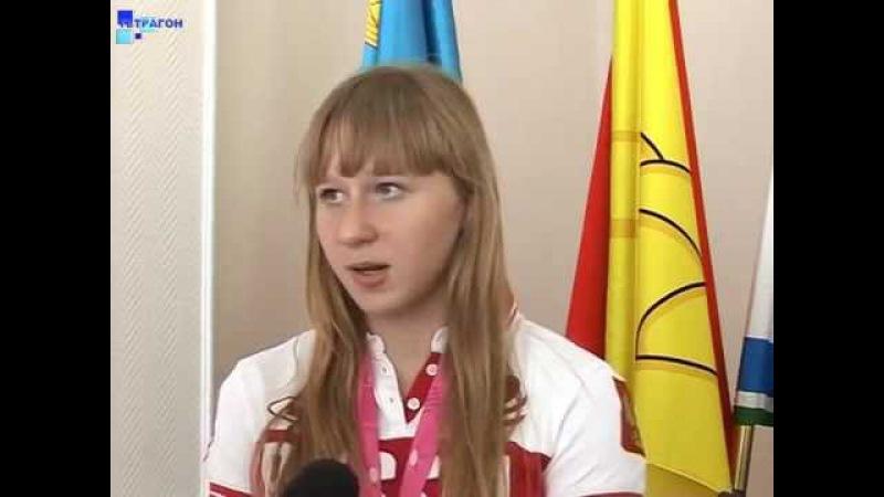 В Россоши с победой на юношеской олимпиаде в Китае поздравили тяжелоатлетку Ан ...