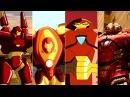 Эволюция Халкбастера в мультфильмах и кино