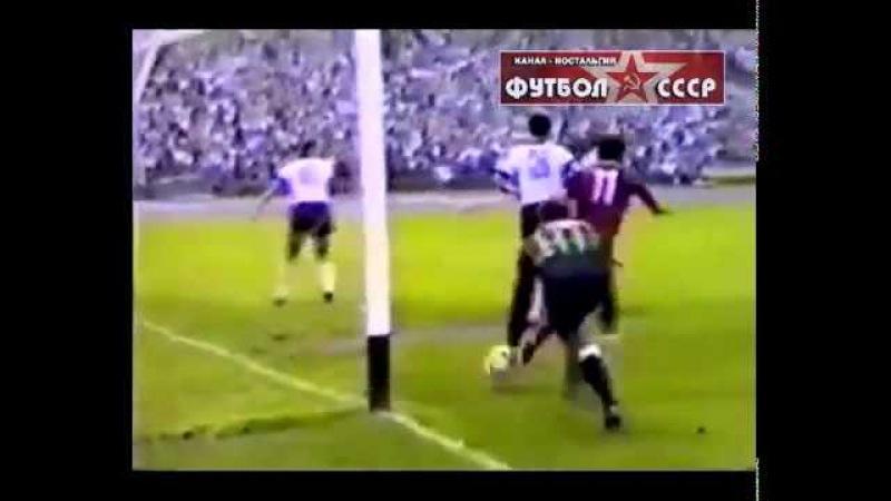 1988 Днепр (Днепропетровск) - Кайрат (Алма-Ата) 3-0 Чемпионат СССР по футболу