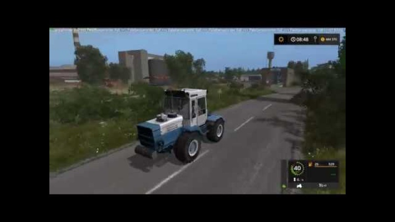 Мод трактор ХТЗ-T-200K Фарминг Симулятор 2017