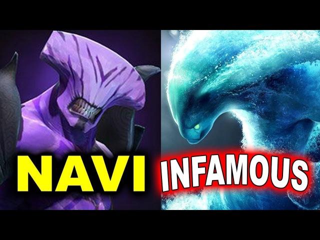 NAVI vs INFAMOUS - AMAZING GAME - GEST INDONESIA MINOR DOTA 2