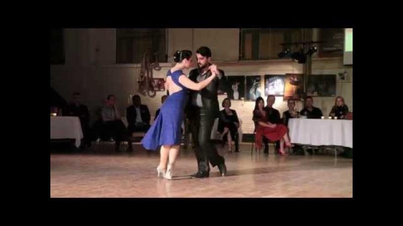 Fernando Sanchez et Ariadna Naveira Cuento Azul (tango) 1de4