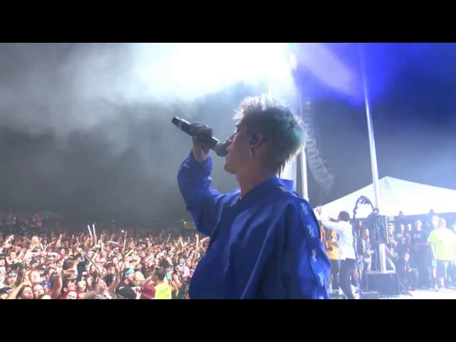 Machine Gun Kelly - Wild Boy, Breaking News and Chip Off The Block (Live at EST Fest - 2017)