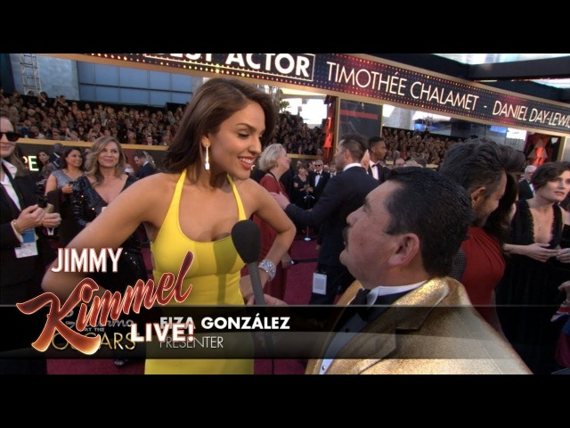Guillermo at the Oscars