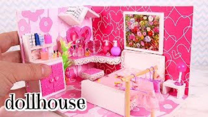 DIY Miniature Girly Dollhouse Room [Not a Kit]