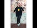 свитшот ананас арт.168, леггинсы арт.124