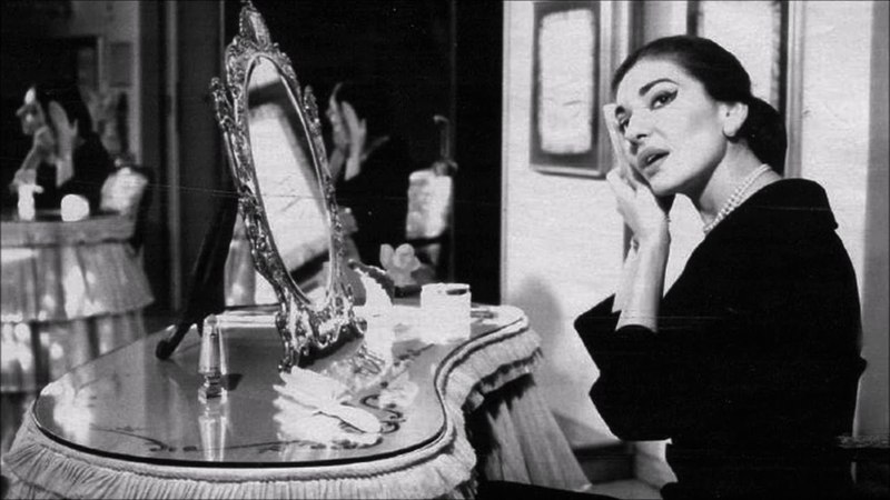 Maria Callas sumptuous low register