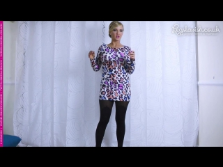 Rosie on Gabriella Demi tights (available from )