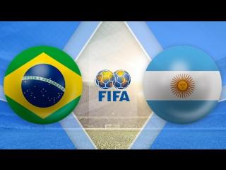 Бразилия 0:1 Аргентина | Товарищеские матчи 2017 | Обзор матча