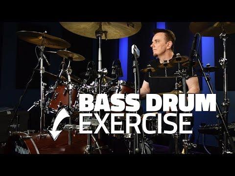 Gavin Harrison's Bass Drum Exercise