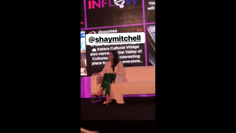 Shay at The VisitQatar INFLOW Summit (26 февраля 2018)