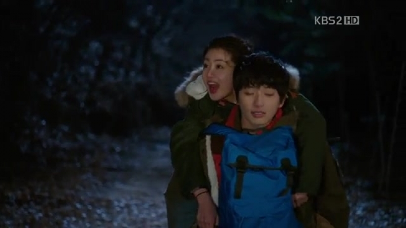 Jiwoon (Jin Yoo Jin) - The Starlight is Falling (Dream High 2 Eр5)