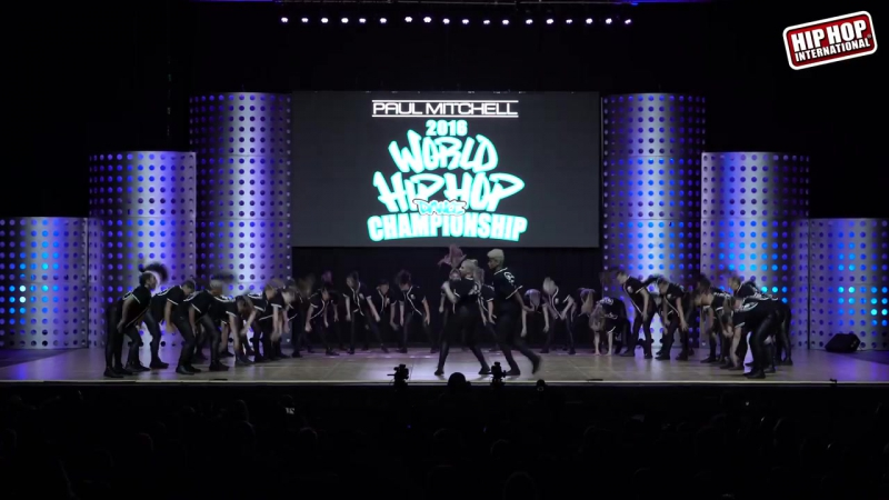 Royal Family Varsity New Zealand Bronze Medalist MegaCrew Division @ HHI2016 World Finals
